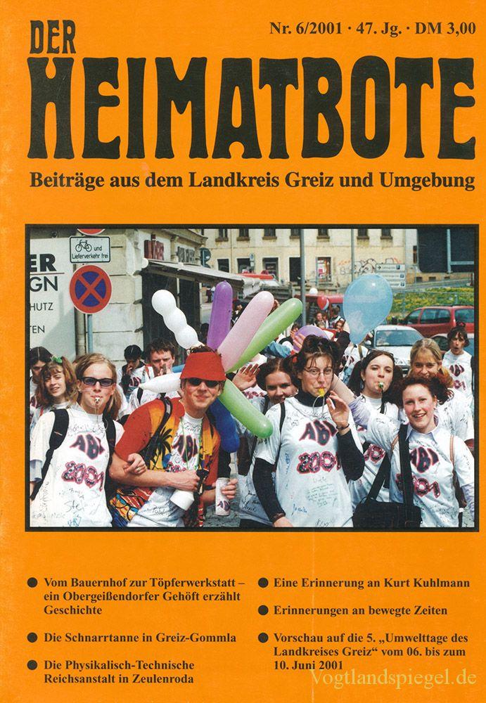 Greizer Heimatbote Juni 2001