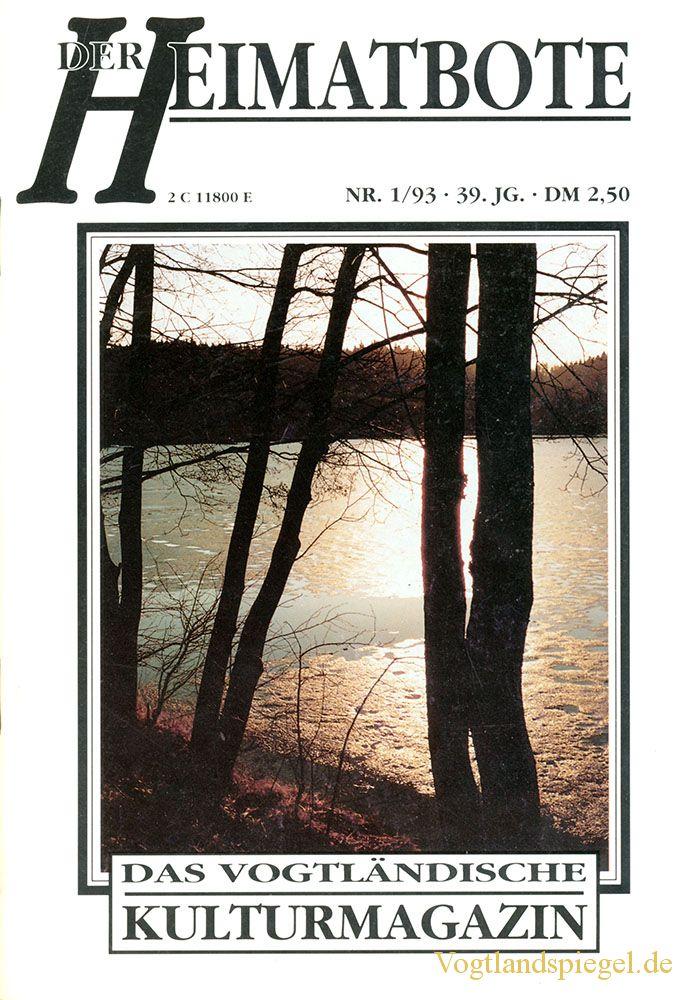 Greizer Heimatbote Januar 1993