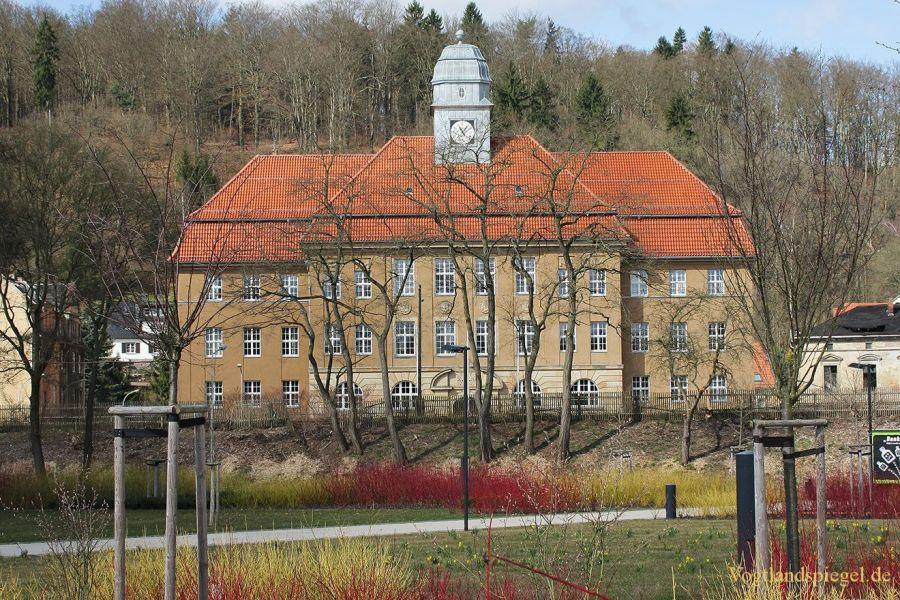 Stadtansichten von der Fürstliche Schloss und Residenzstadt Greiz 2015