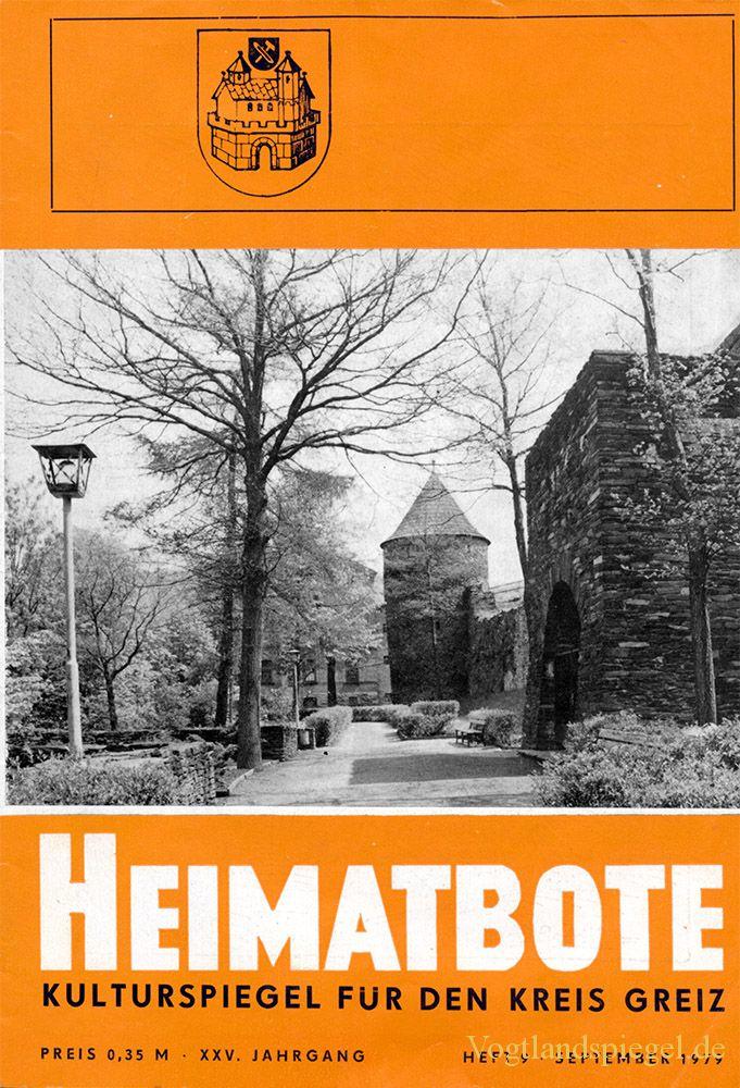 Greizer Heimatbote September 1979
