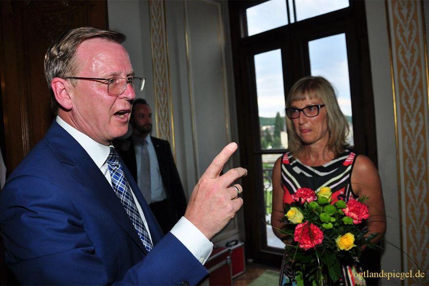Bodo Ramelow zu Gast bei Prominente im Gespräch