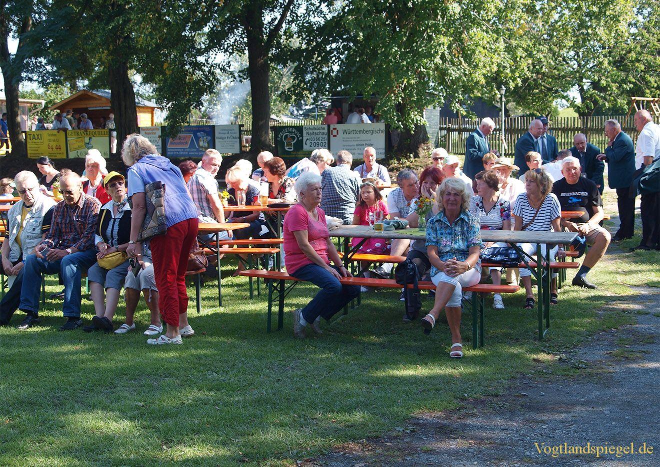 Gut besuchtes Herbstfest in Gommla