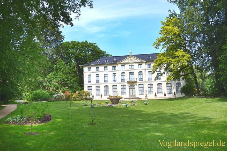 Überwältigende Farbenpracht im Fürstlich Greizer Park