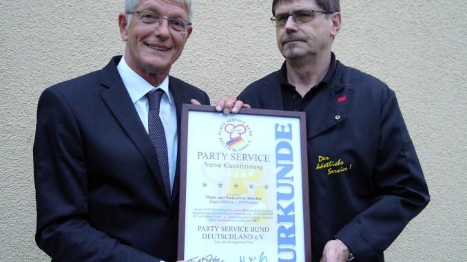 Fünf Sterne für Menü-und Partyservice Böttcher