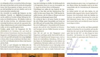 Amtsblatt der Stadt Greiz wird 2017 zum Bürgermagazin