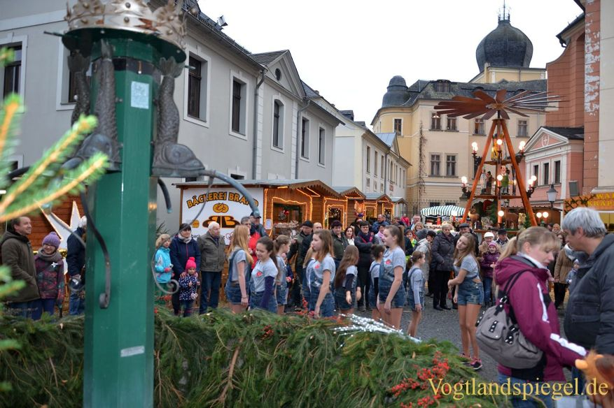 Vorweihnachtlicher Streifzug durch die Stadt Greiz