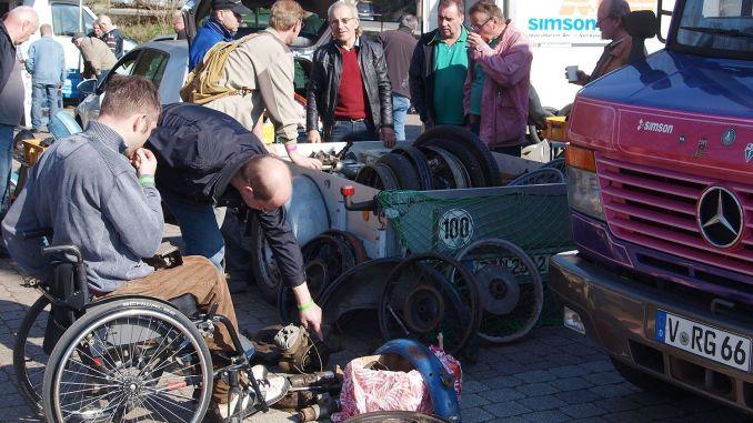 Neumühle: Besucherandrang beim 19. ADAC-Oldtimer-Ersatzteilemarkt