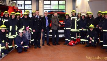 Feuerwehr Greiz erhält neues Einsatzfahrzeug