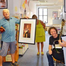 """Fotoausstellung """"Auge in Auge"""" von Michael Lebek in Greizer Bibliothek eröffnet"""
