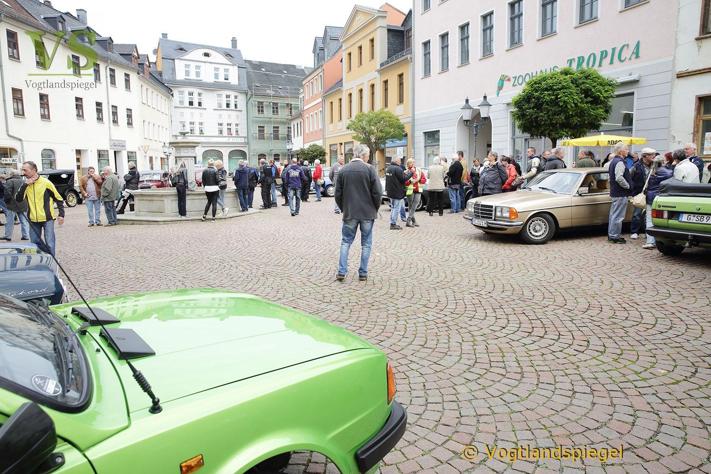 """35. ADAC Oldtimerausfahrt """"Rund um die Park-und Schlossstadt Greiz"""""""