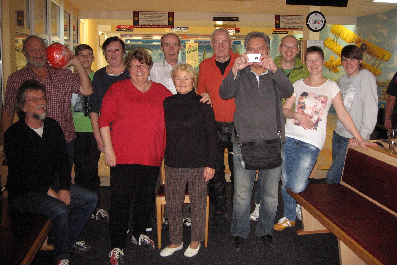 Motorsportclub Greiz: Gemeinsamer Bowlingabend mit Gästen