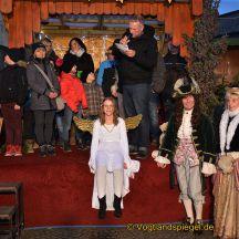 Traditioneller Greizer Weihnachtsmarkt eröffnet