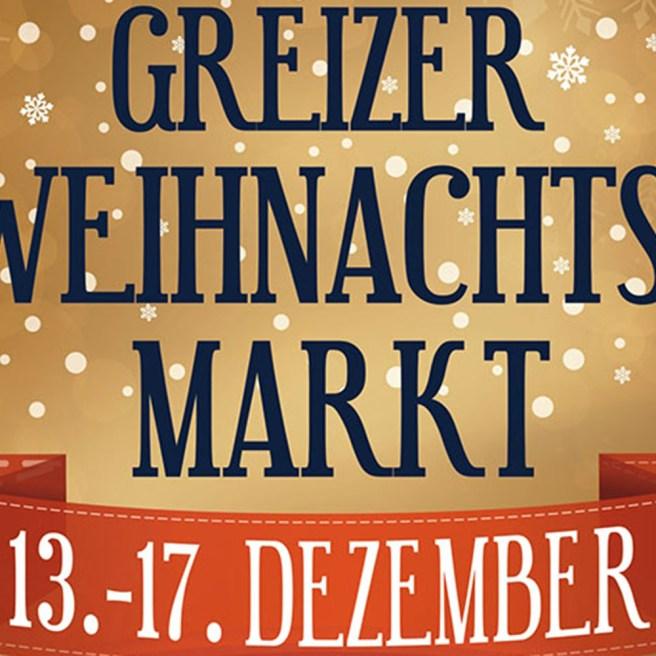 Weihnachtsmarkt im fürstlich vogtländischen Greiz