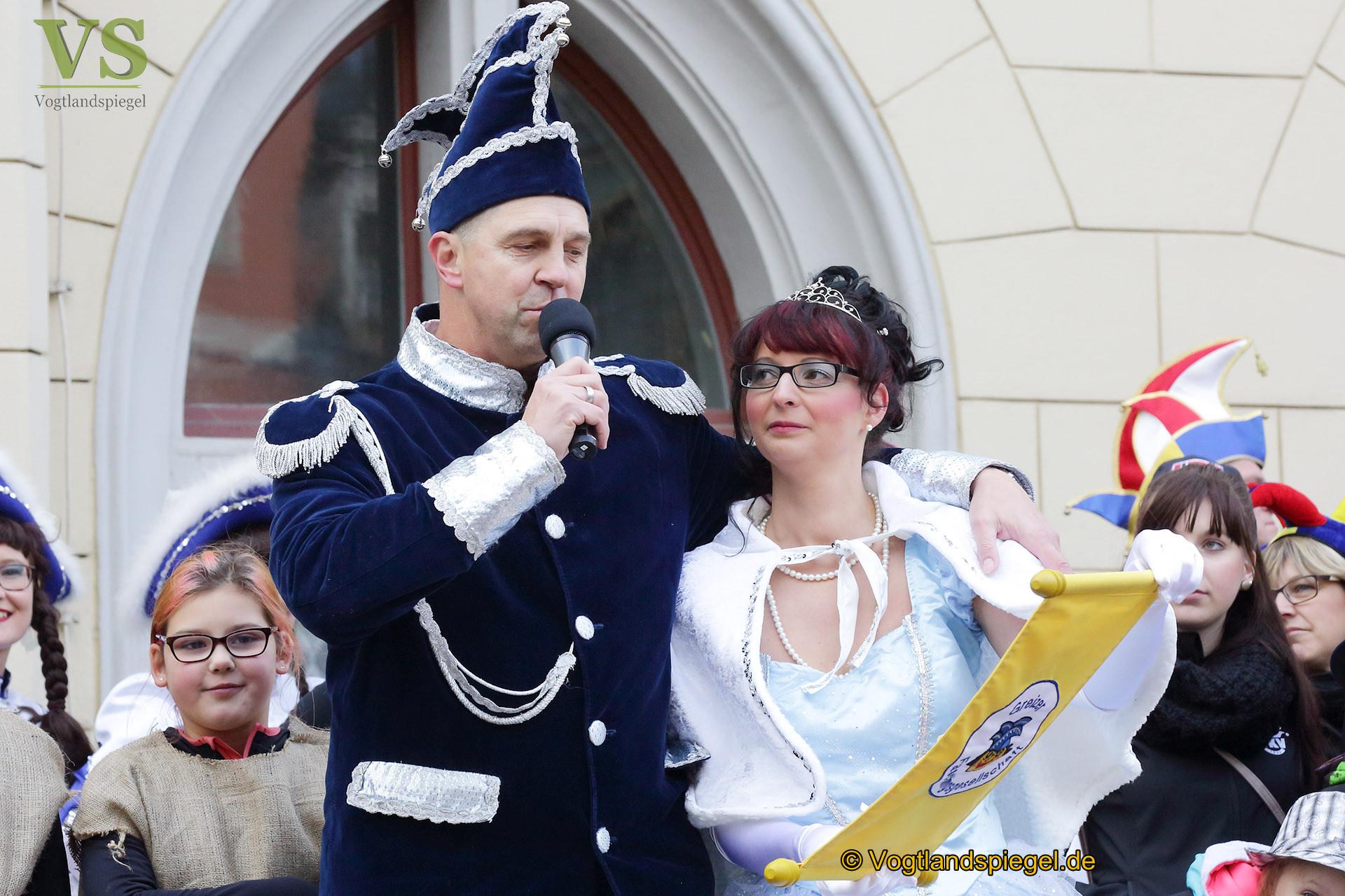 Greizer Prinzenpaar: Wir freuen uns auf die närrische Zeit