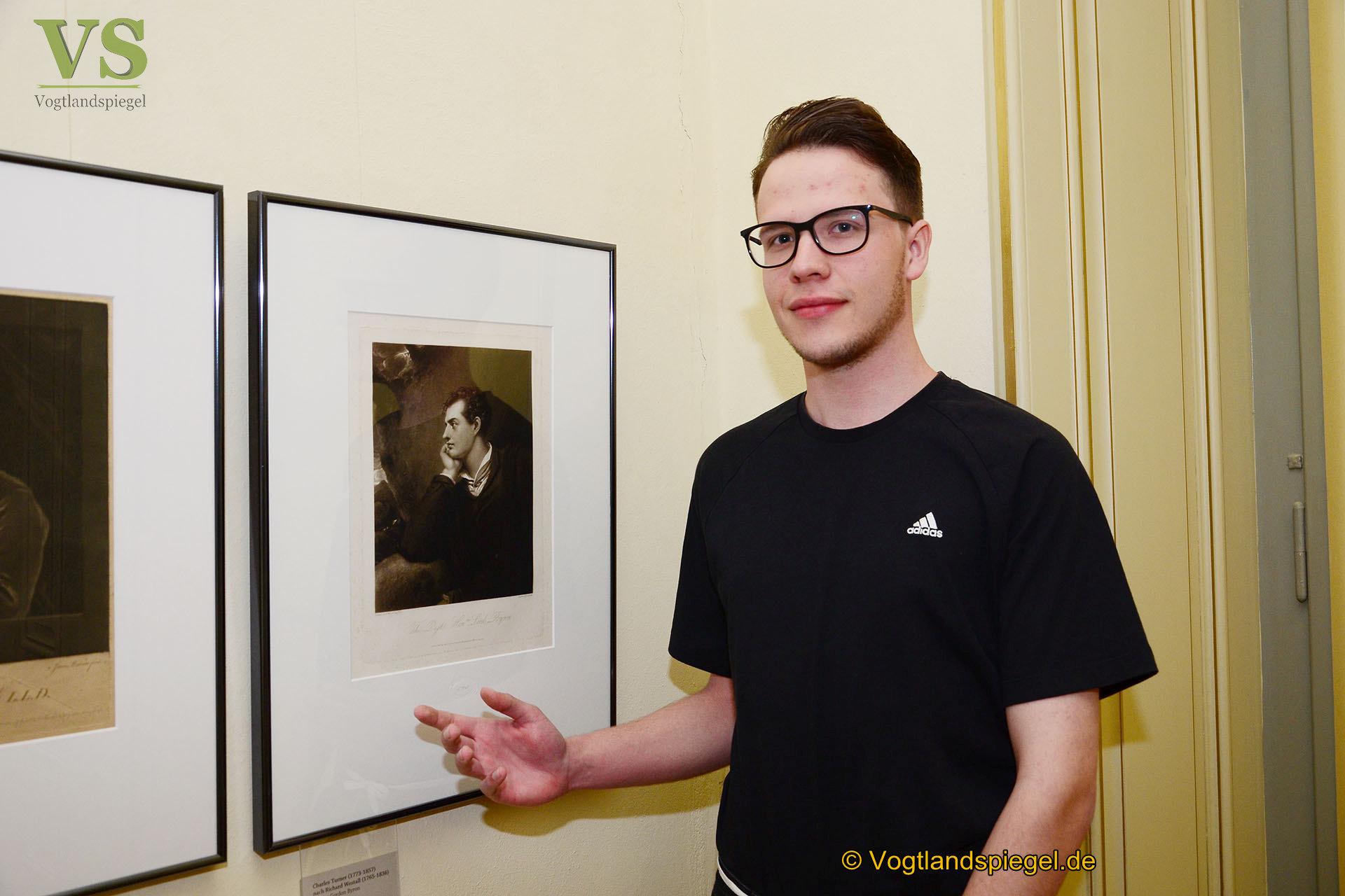 Sommerpalais Greiz: Kulturfreiwilliger Michael Siegert offeriert besondere Ausstellung