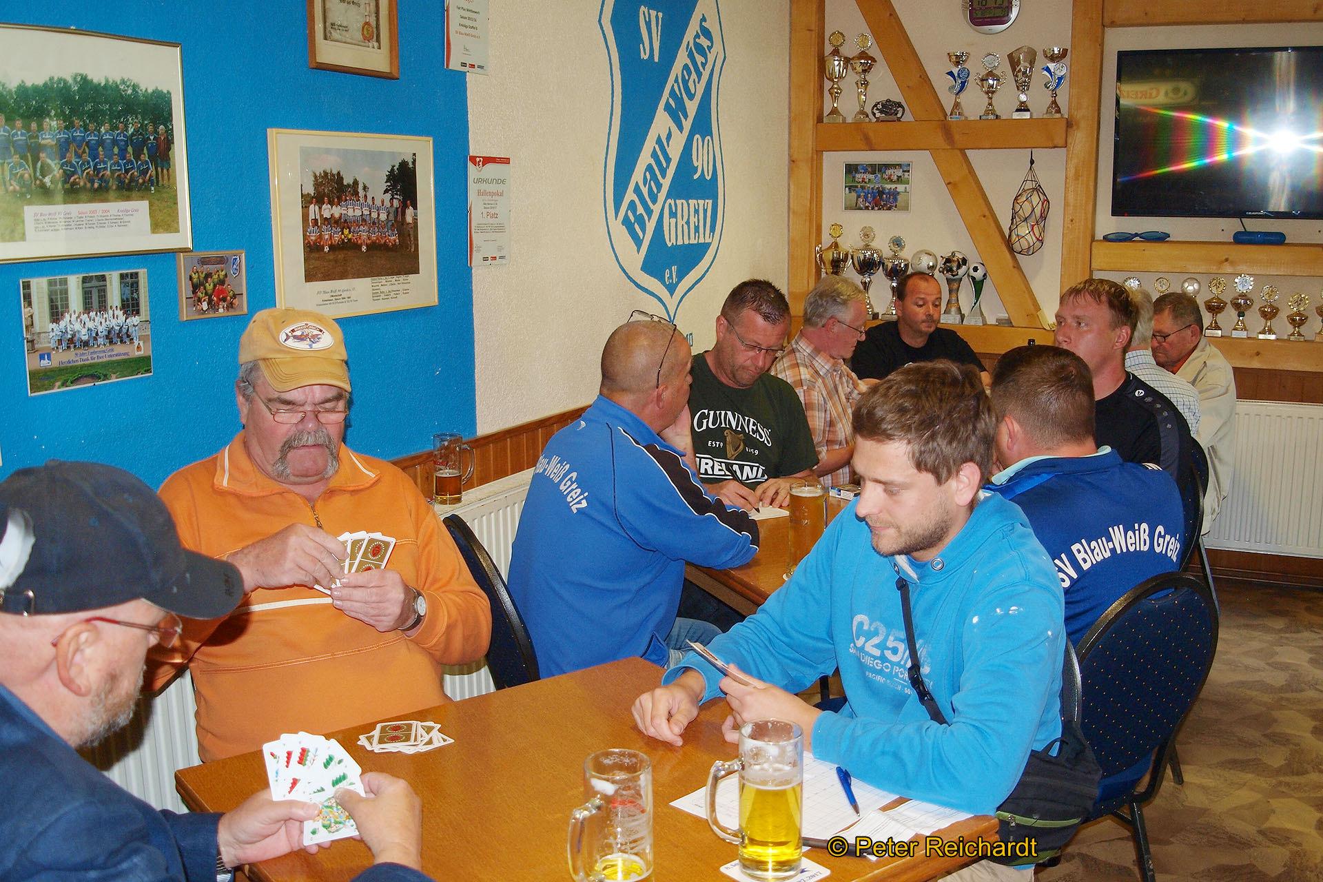 Frühjahrsskatturnier 2018 des SV Blau-Weiß 90 Greiz fand großen Anklang