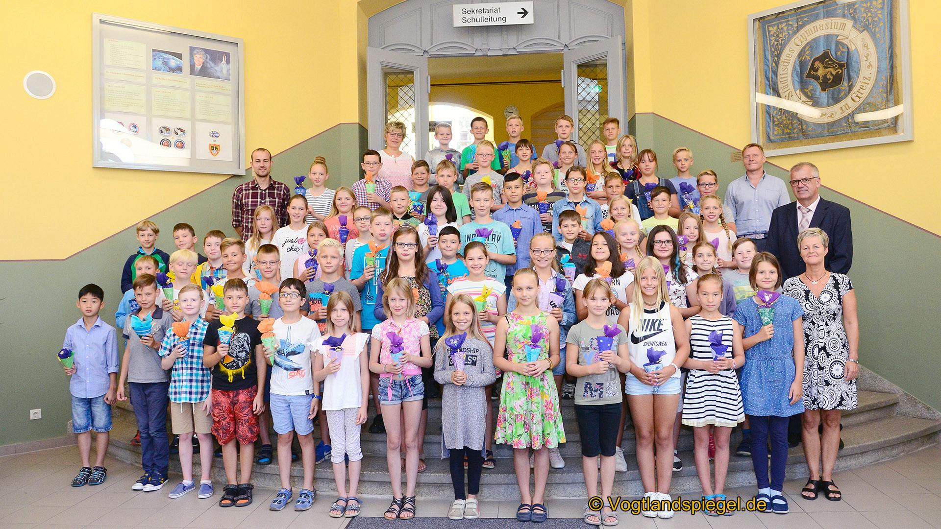 65 Fünftklässler am Ulf-Merbold-Gymnasium begrüßt