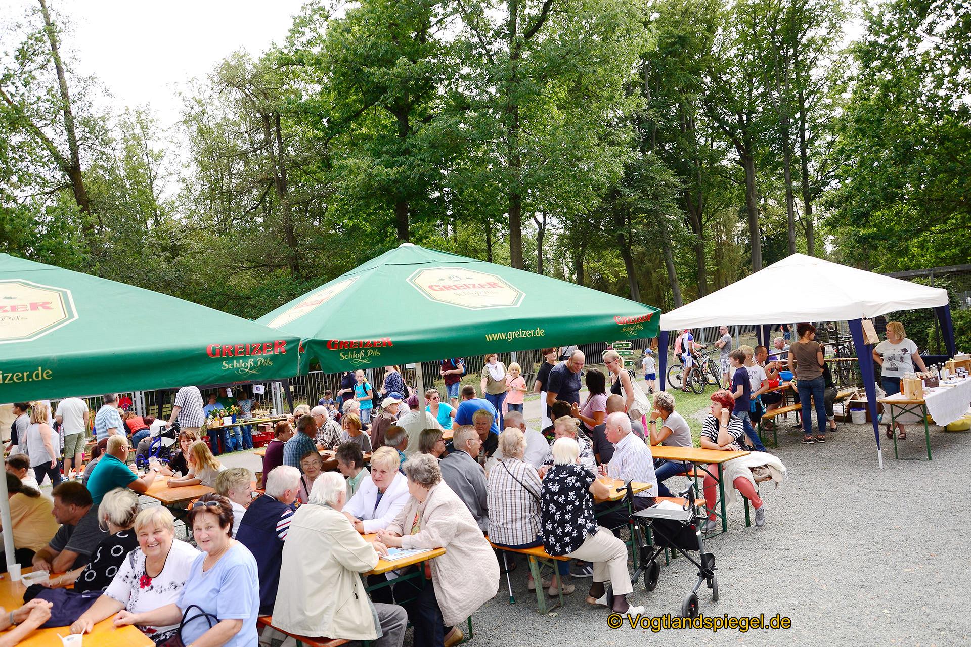 Tiergehegefest: Alles strömt nach Waldhaus