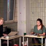 """Schauspielwerkstatt """"Bandscheibenvorfall"""" von Ingrid Lausund im Bahnhof aufgeführt"""