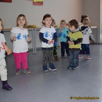 """Kindergarten """"Geschwister Scholl"""": Mit Laternenfest das ausgefallene Sommerfest nachgeholt"""