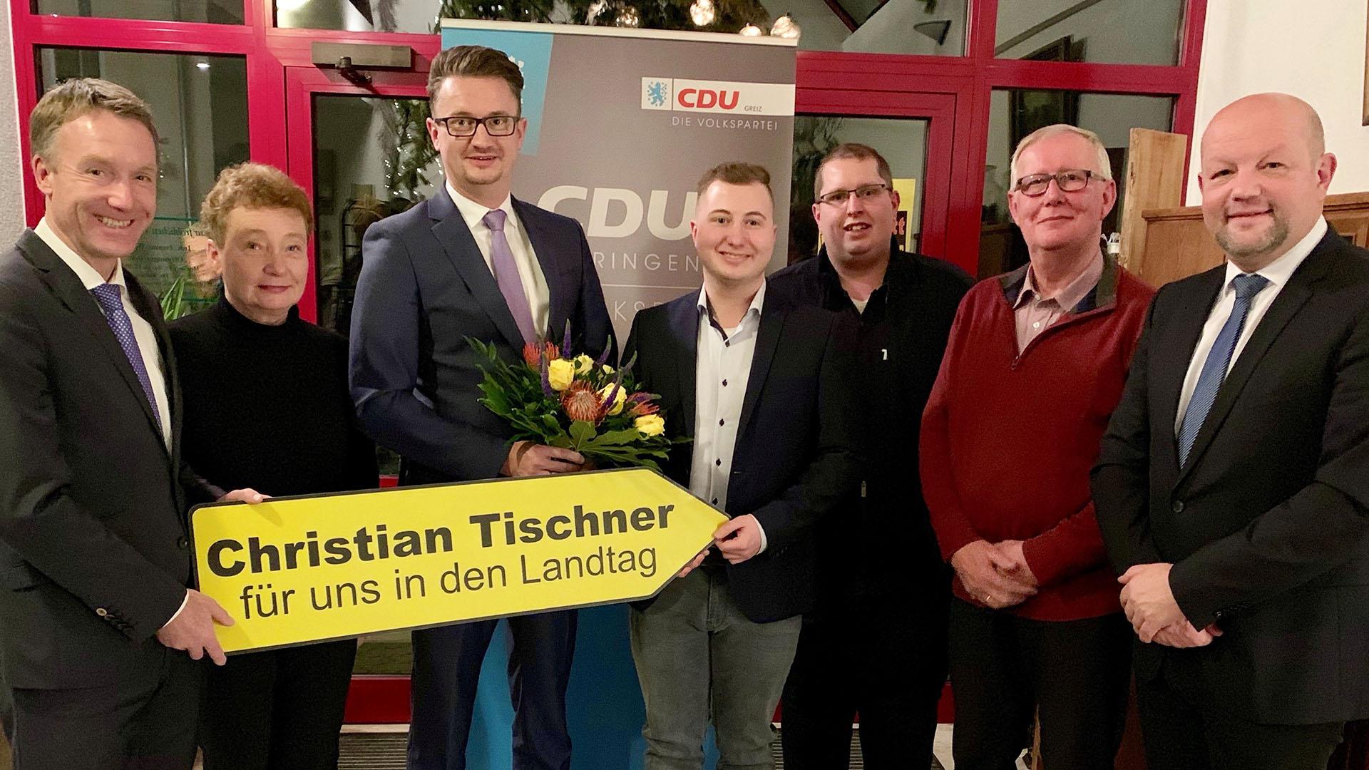 CDU nominiert Christian Tischner als Direktkandidat für die Landtagswahl 2019