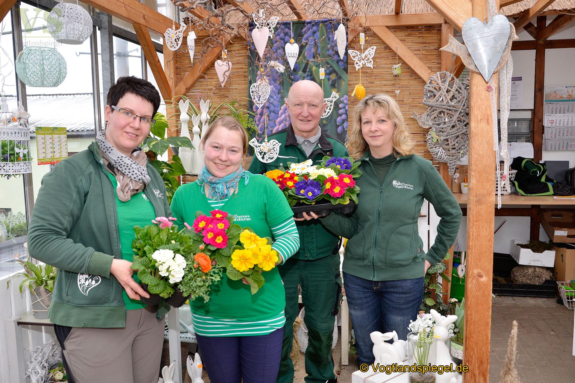 Vogtlandblumen Greiz: Den Lenz in Haus und Garten holen
