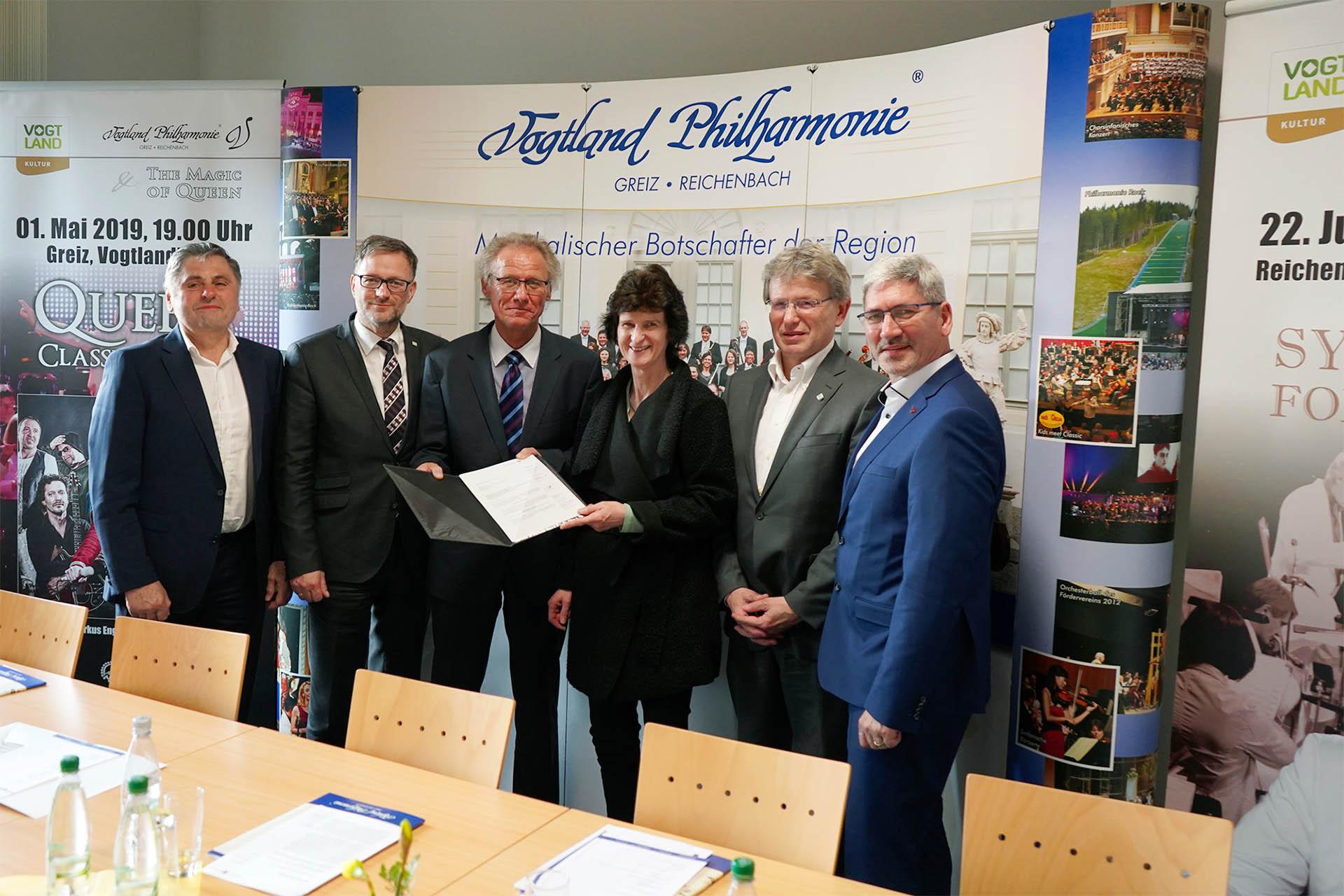 Anhebung der Gehälter für Musiker der Vogtland Philharmonie