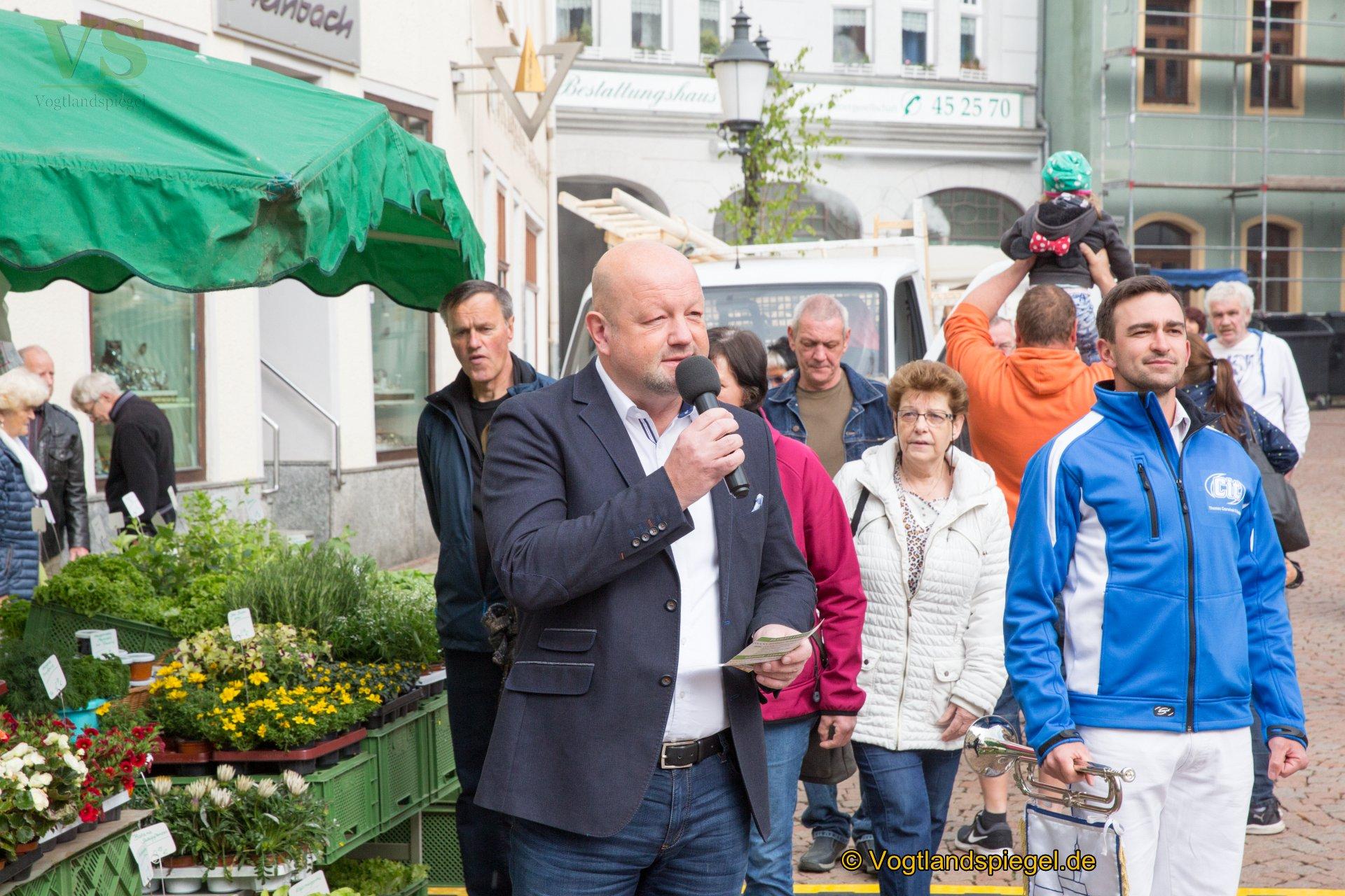 1. Mai in Greiz: Ein Tag für die ganze Familie