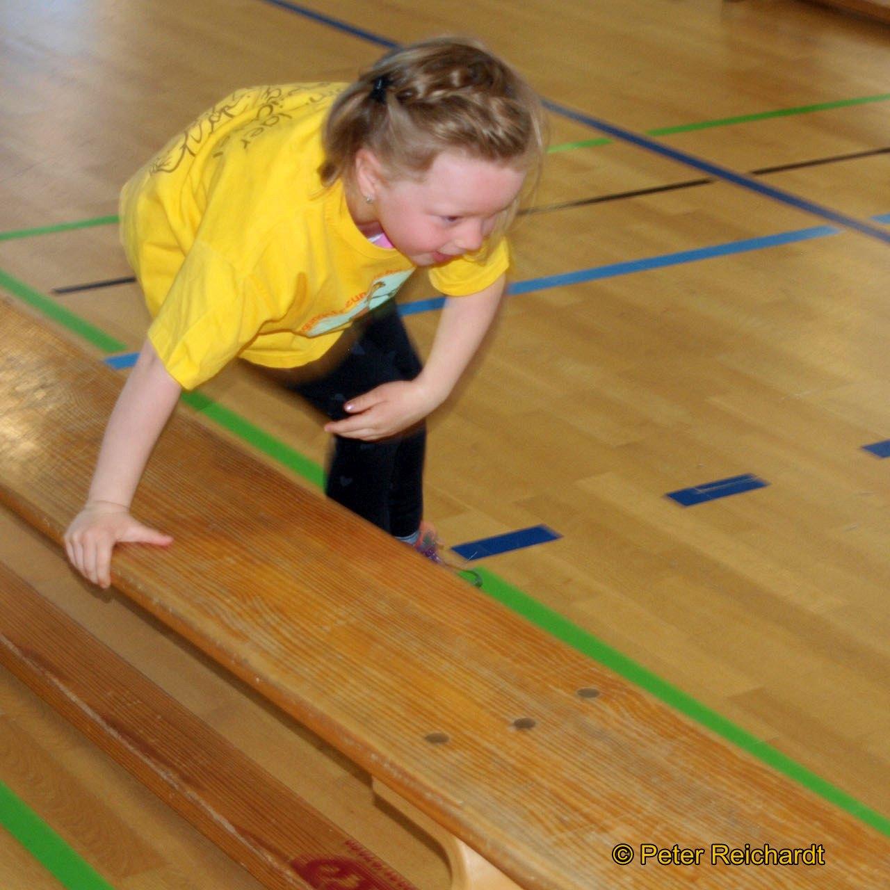 Beim 27. Bummi-Sportfest kämpften 120 Vorschulkinder aus neun Greizer Kindergärten um Plätze und Punkte.