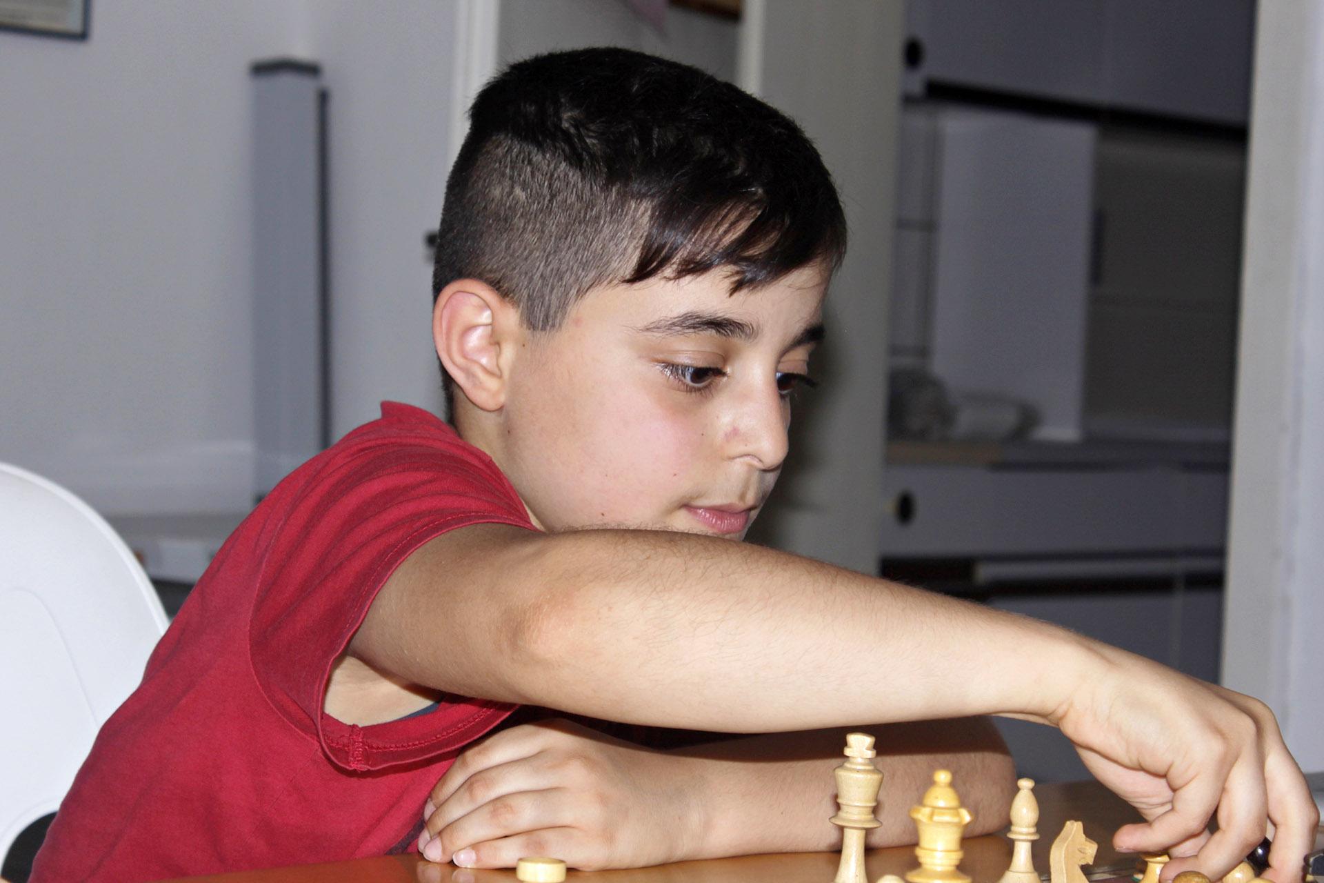 Raman Jafer - Sieger des Vereinsturniers 2018/2019