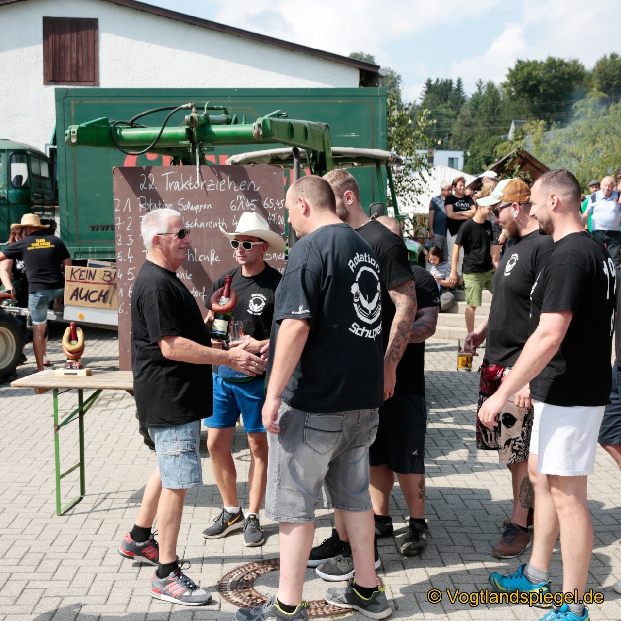 2. Platz Team Rotation Schuppen