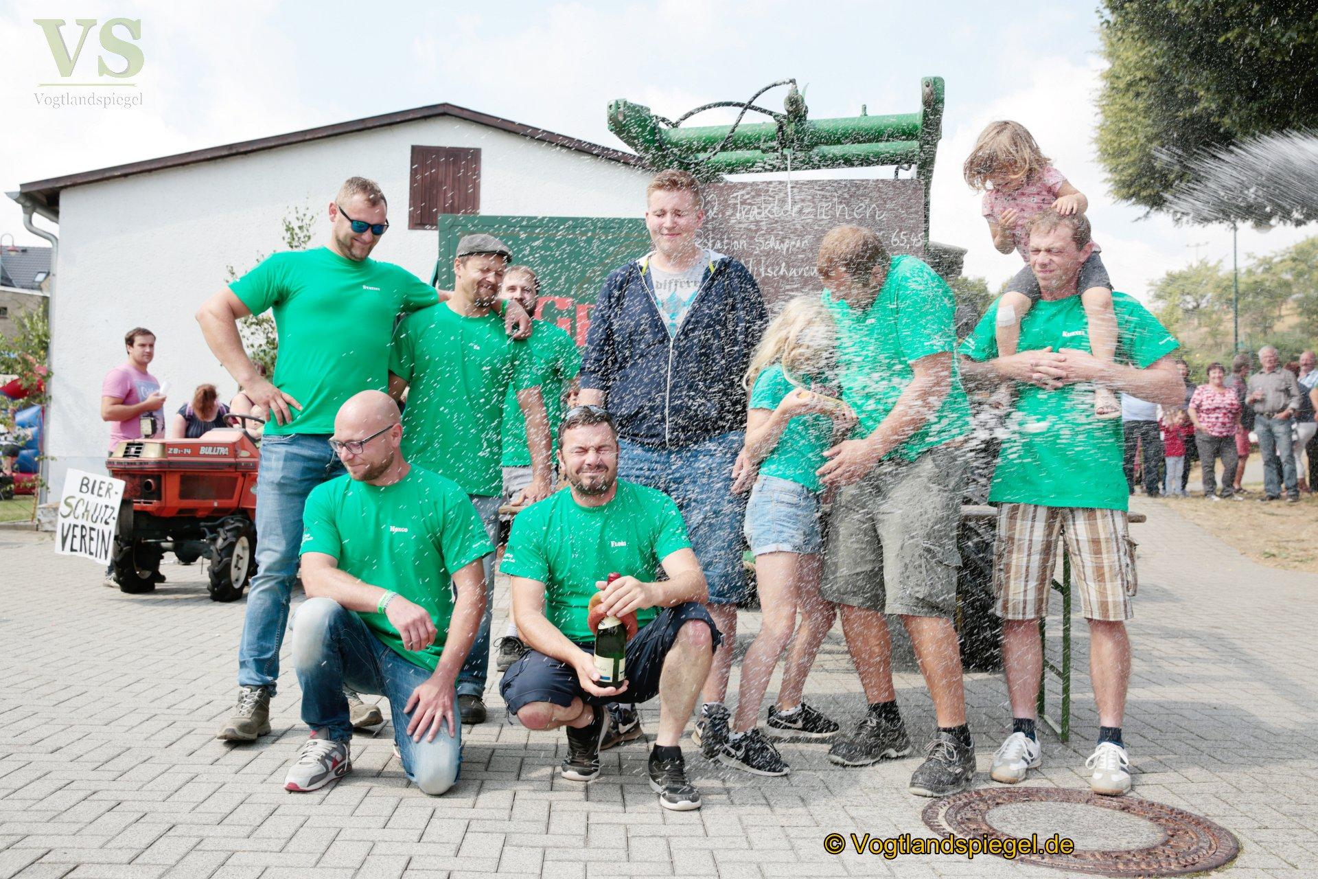 22.Traktorziehen in Nitschareuth
