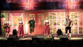 Das Stadlfest 2020 mit Andy Borg machte auch Station in der Greizer Vogtlandhalle.