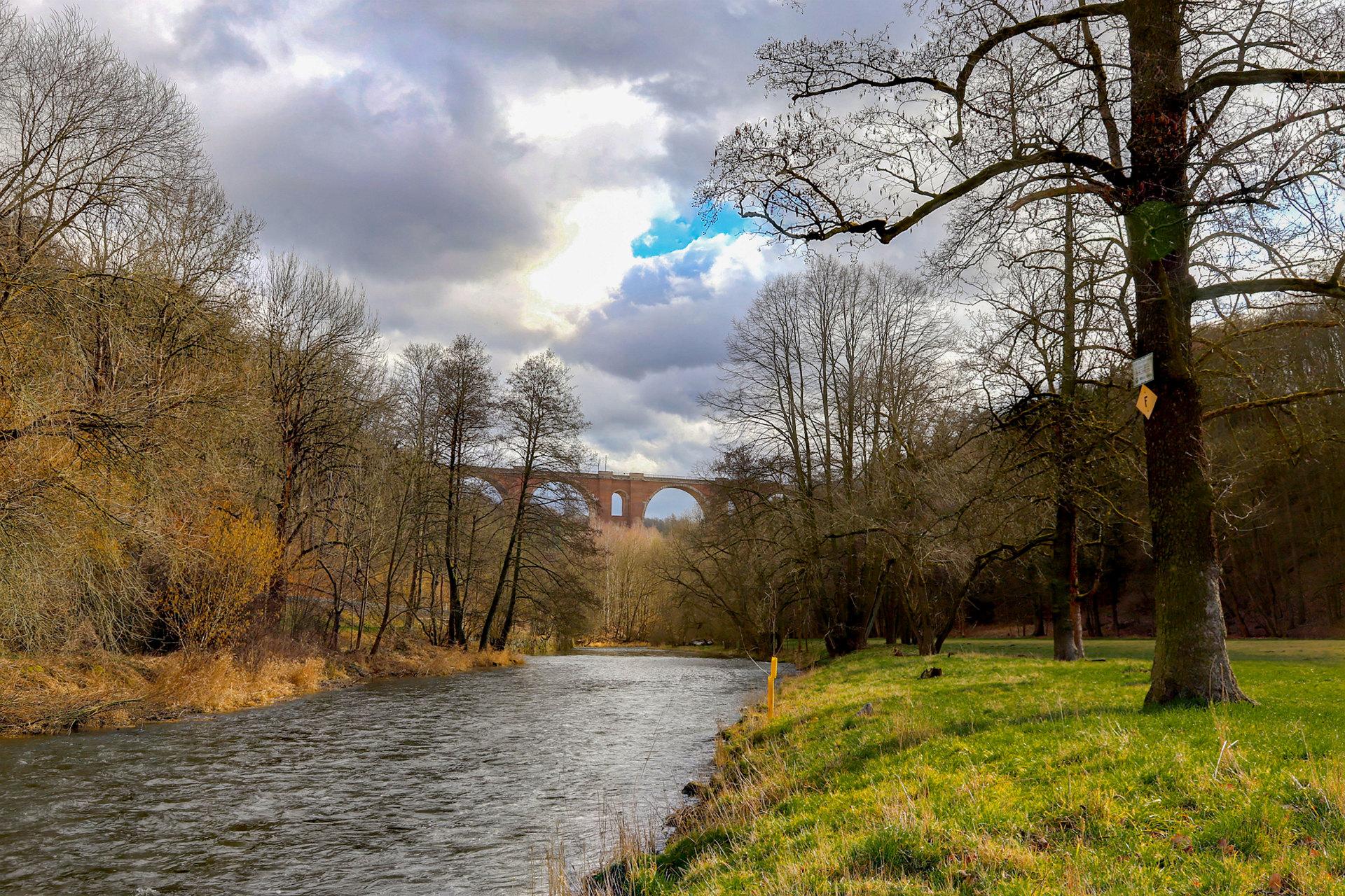 Naturfreunde Sachsen OG Plauen übergeben Informationen zur Flußlandschaft 2020/2021