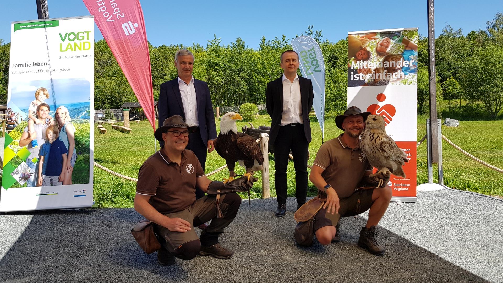 Sparkasse Vogtland unterstützt die Tourismusregion Vogtland auch in schwierigen Zeiten