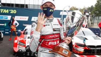 René Rast verteidigt mit Finalsieg in Hockenheim seinen DTM-Titel