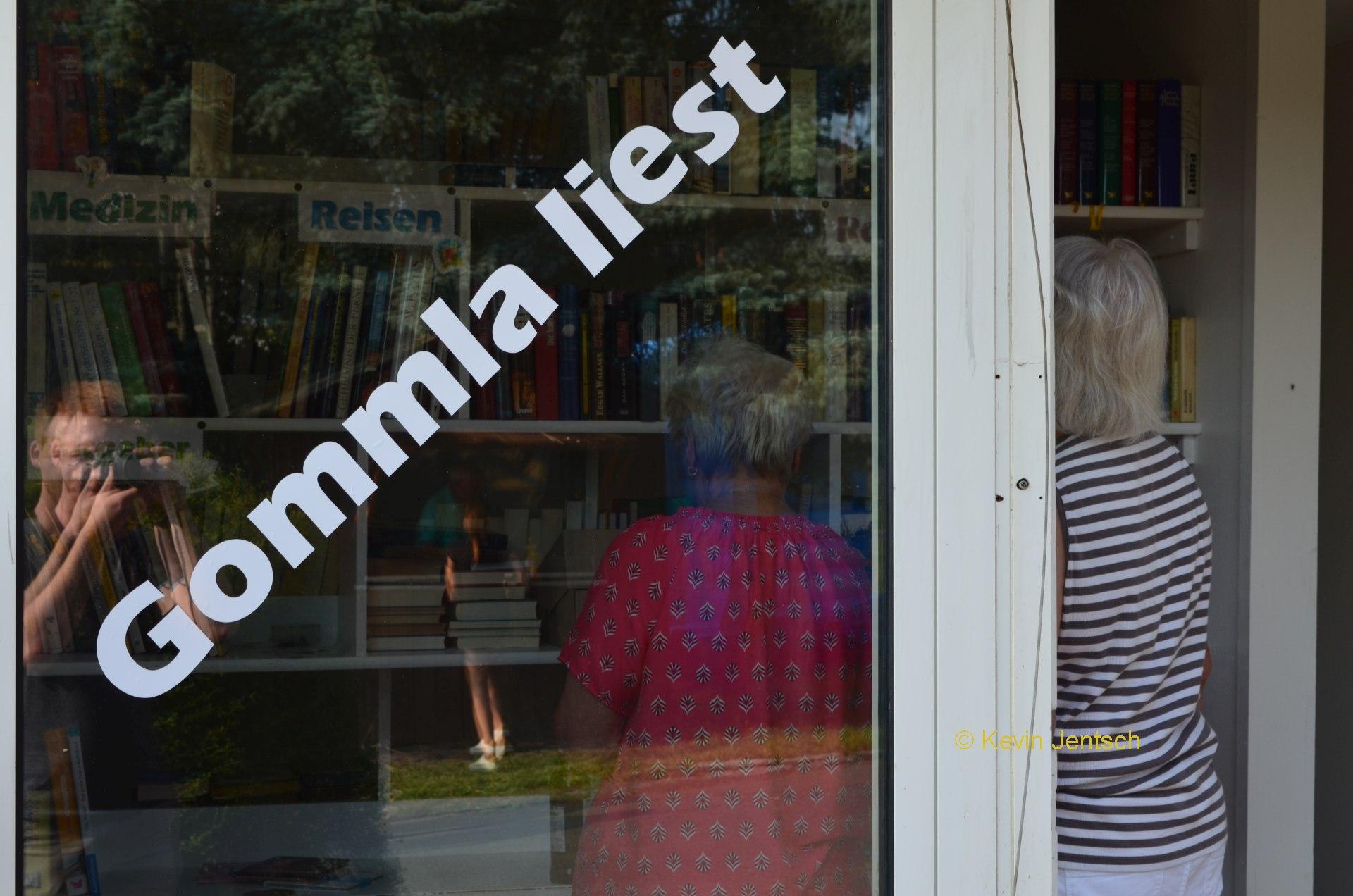 Gommla hat Treffpunkt für Leseratten