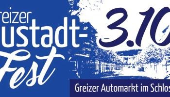 Neustadtfest am 3. Oktober 2021 in Greiz