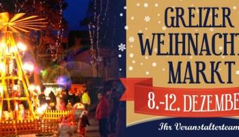Greizer Weihnachtsmarkt im Schlossgarten