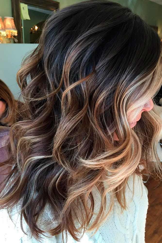 Ide Des Couleurs De Cheveux Highlighted Hair Is Really