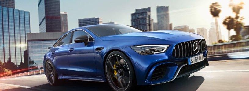 Nuova AMG GT Coupè 4 porte