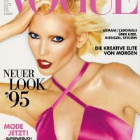 Nadja Auermann Throughout the Years in Vogue