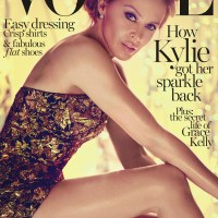 Kylie Minogue Throughout the Years in Vogue