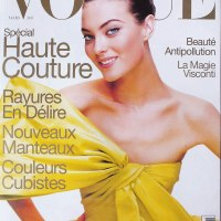 Shalom Harlow Throughout the Years in Vogue