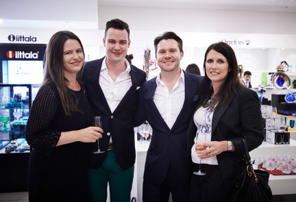 Vogue Living editor-in-chief Victoria Carey, Marcus Ross, Vogue Living publisher Nick Smith, and Prue Cox