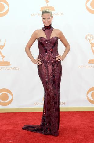 Heidi Klum de Versace: maravilhosa