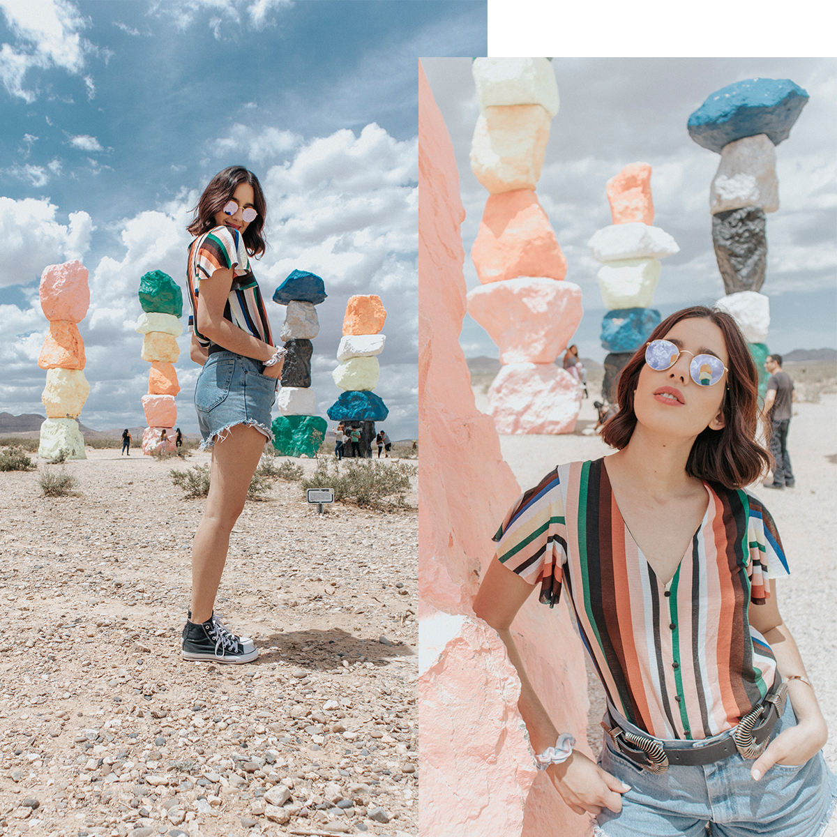 Seven Magic Mountains – Las Vegas, NV
