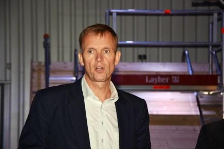 Algemeen directeur Hans Pluimes