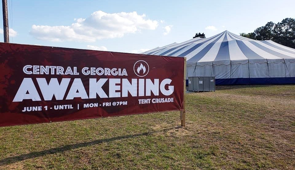 Central Georgia Awakening Revival Sign