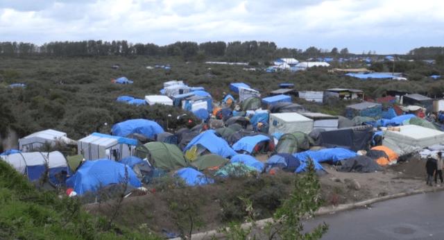 The jungle camp - Calais - Brexit agreement must include law enforcement : Nicolas Pinault (VOA)